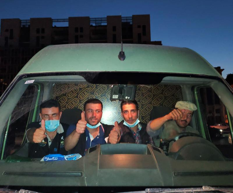 4位叙利亚志愿者