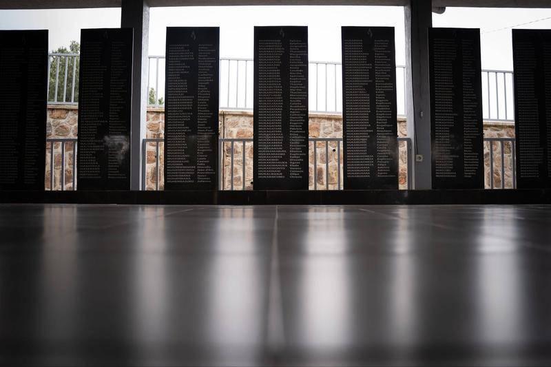 大屠杀纪念馆死者名单。图源:视觉中国